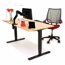 Adjustable Height Standing Desk by Uplift 900 Adjustable Height Standing Desk Laminate Desktop