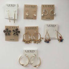 Ralph Lauren Chandelier Fashion Earrings Ralph Lauren Stick Fashion Earrings Ebay