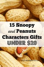 snoopy and peanuts characters gifts 20