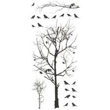 birds in tree designer wall accents hobby lobby 973131