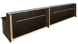 Schreibtisch 1 00 Meter Breit Emfangstheke In Verschiedenen Längen M24home De