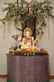 Janmashtami Home Decoration 22 Best Ganpati Decoration Images On Pinterest Diwali