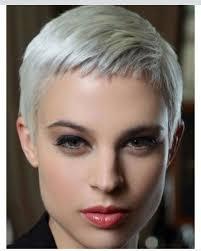 pictures of womens short dark hair with grey streaks best 25 platinum pixie ideas on pinterest platinum blonde pixie