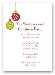 Christmas Party Invitations With Rsvp Cards - christmas party invitations u0026 holiday invitations