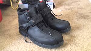 harley riding shoes icon super duty 4 boots youtube
