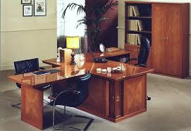 Desk And Filing Cabinet Set Senat Modern Mahogany Italian Office Furniture Set