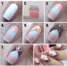 nice easy nail art for beginners step by step tutorials pepino