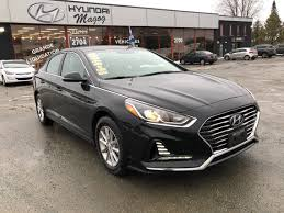 siege hyundai hyundai magog used 2018 hyundai sonata for sale in magog
