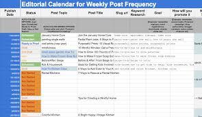 Editorial Calendar Template Excel Editorial Calendar Template Tristarhomecareinc