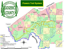 Michigan Counties Map Michigan Trail Maps