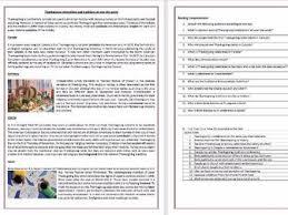 thanksgiving worksheets bundle by kntonia teaching resources tes