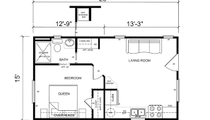 one room house floor plans one floor small house plans luxamcc org
