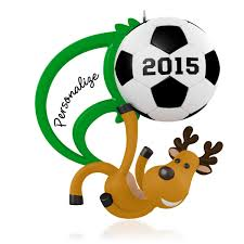 2015 soccer hallmark keepsake ornament hooked on hallmark