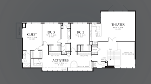 mascord house plan 2453 the aurea
