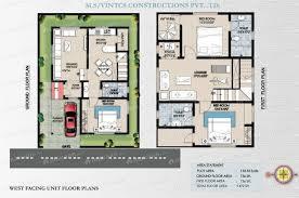 West Facing House Vastu Floor Plans 30 X 40 House Plans Vastu Arts With Car Parking West Pre Gfhouse