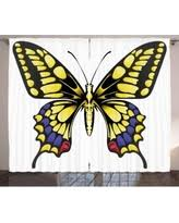 Purple Butterfly Curtains Don U0027t Miss These Deals On Butterfly Window Curtains
