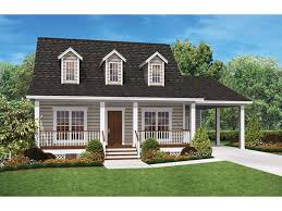 House With Carport Eplans Ranch House Plan U2013 Cozy Two Bedroom Ranch U2013 900 Square Feet