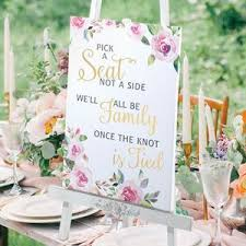 wedding seating signs wedding signs wedding ceremony signs