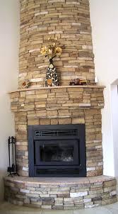 faux stacked stone fireplace laboratorioc3masd co