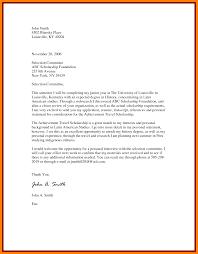 7 example of scholarship letter packaging clerks