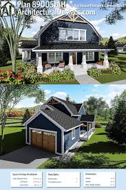 gambrel house plans plan 890051ah 3 bed house plan with gambrel roof architectural