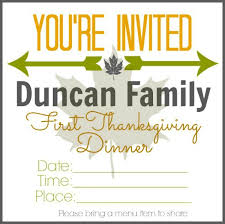 thanksgiving dinner family tradition w printable
