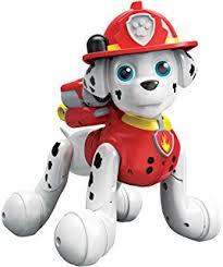 amazon paw patrol jumbo sized action pup marshall toys u0026 games