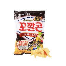 cuisine lotte lotte bbq corn snack 77g snackoo com