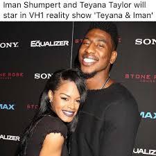 Teyana Taylor Meme - dopl3r com memes iman shumpert and teyana taylor will star in