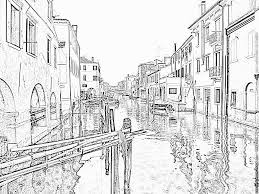 chioggia venice italy coloring pages printable u0026 free