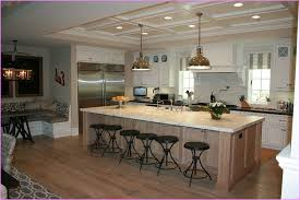 kitchen island with seating for 6 kitchen with large island for seating photogiraffe me
