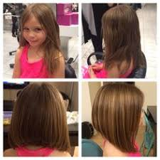 medium length haircut easy to maintain 25 belles coupes pour petites filles angled haircut haircuts