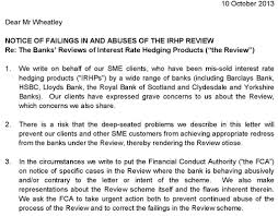 fca irhp review kpmg whistleblower rbs fought
