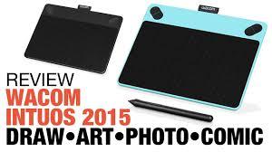 amazon wacom black friday 2016 review wacom intuos 2015 tablet draw art photo comic youtube