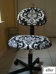 computer chair covers office chair cover tutorial furniture redos chair