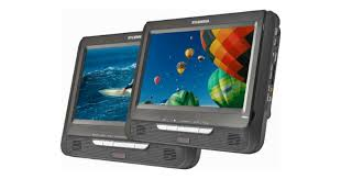 target black friday dvd player portable today only sylvania dual screen portable dvd player just 39 99