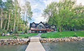 custom lakefront home jaywest country homes