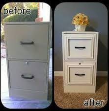 painting metal file cabinets metal filing cabinet makeover by adding picture frame molding feet
