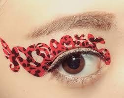 eye temporary etsy