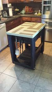 Pallet Kitchen Island Diy Pallet Made Kitchen Island Table 101 Pallets For The Home