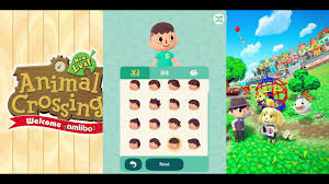 animal crossing pocket camp all hairstyles faces and skin tones