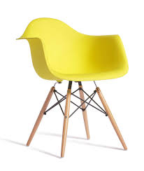 Eames Replica Designer Arm Chair Yellow Furniture  Home Décor - Designer chairs replica
