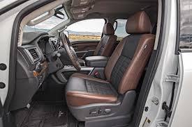 nissan titan camper interior 2016 nissan titan xd v 8 platinum reserve first test review