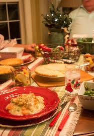 casual holiday dinner party ideas with marie callender u0027s pot pies