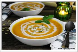 butternut squash sweet potato soup vegan huggs