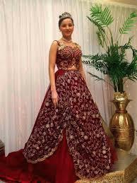 robe algã rienne mariage robe pour mariage arabe tenue marocaine algérienne