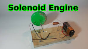 easy to make solenoid engine