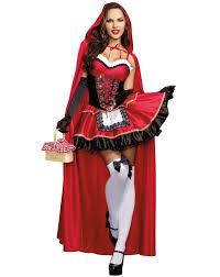 womens nerd halloween costumes little red riding hood dress buycostumes com