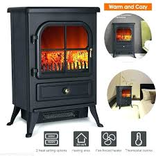 free standing electric fireplace stove electric fireplace heater reviews stove ft free standing portable furnace clevr