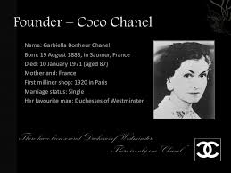 coco chanel history biography chanel